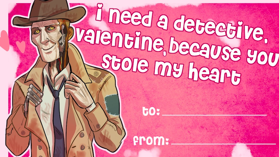 these fallout 4 valentine s day cards will upgrade your love life