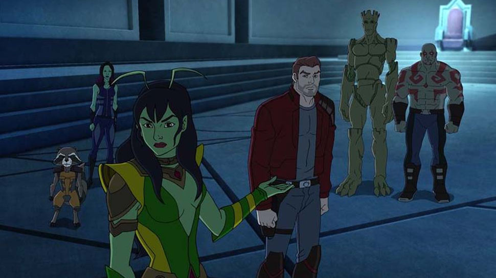 GUARDIANS OF THE GALAXY ANIMATED SERIES Recap: 'Don't Stop Believin""
