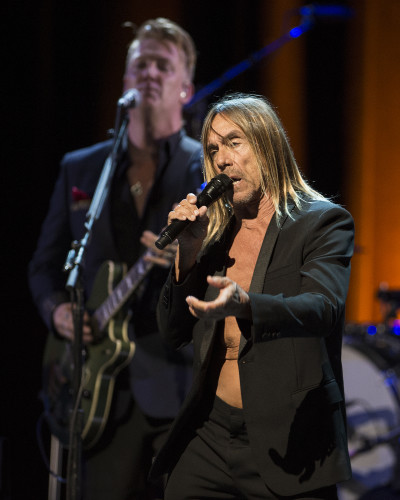 Josh Homme and Iggy Pop perform at the SAG-AFTRA/BMI Showcase during SXSW at the ACL Live at the Moody Theater on March 16, 2016, in Austin, TX. (Erika Goldring Photo)