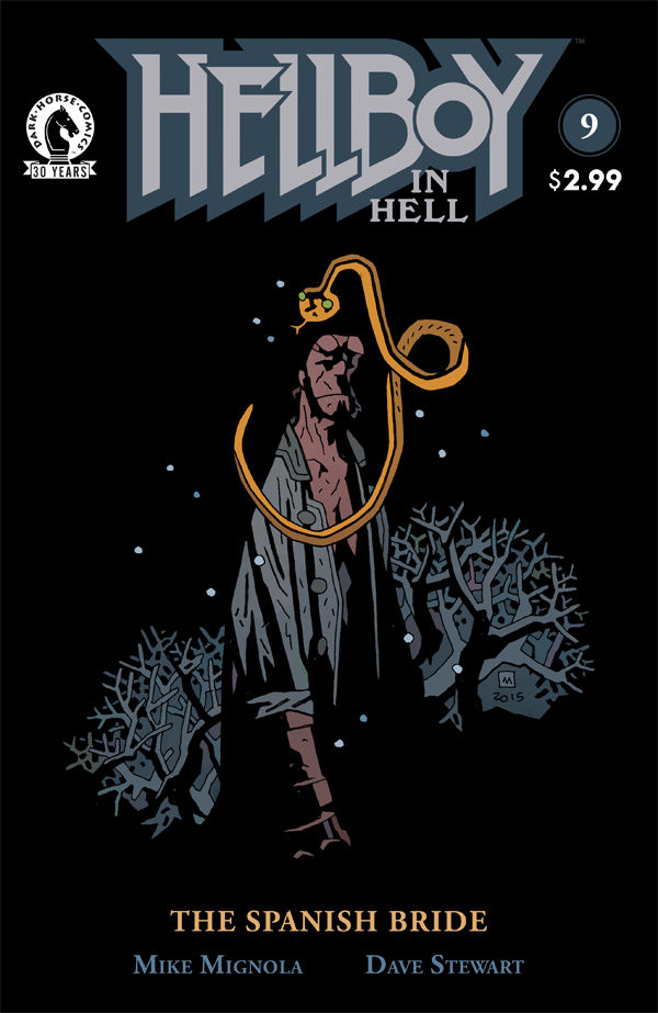 Hellboy in Hell #9 from Dark Horse Comics