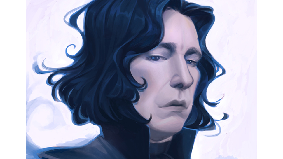 Fan Art Friday #79 – Snape, Ariel, and More by Mioree