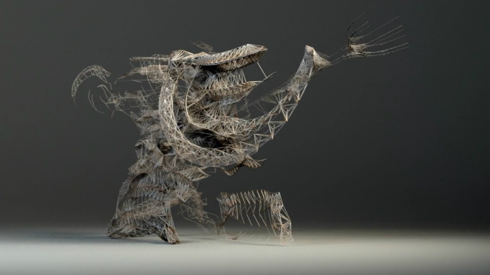 Martial Arts And Motion Capture Collide In A Cool Kinetic Video