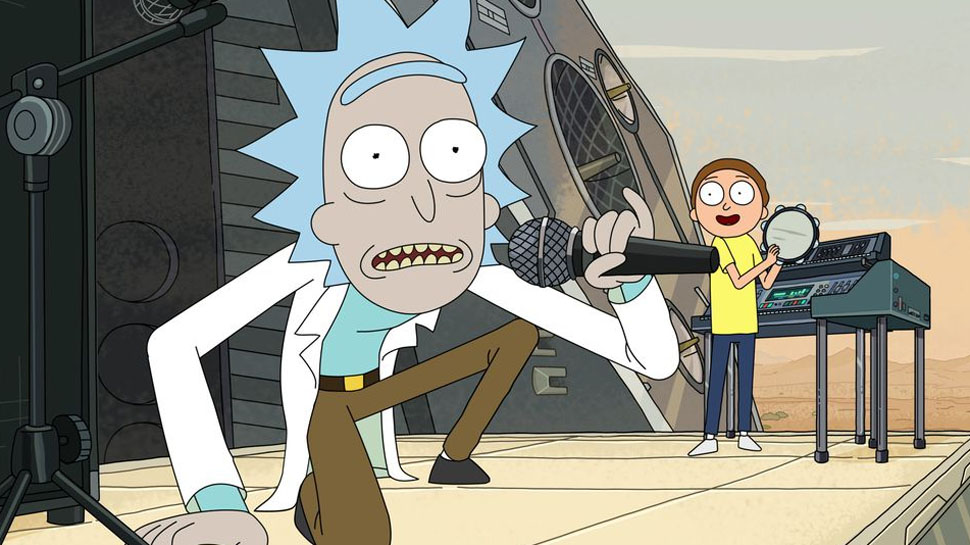 This Guitar Remix Of RICK AND MORTY's 'Get Schwifty' is Really… Schwifty