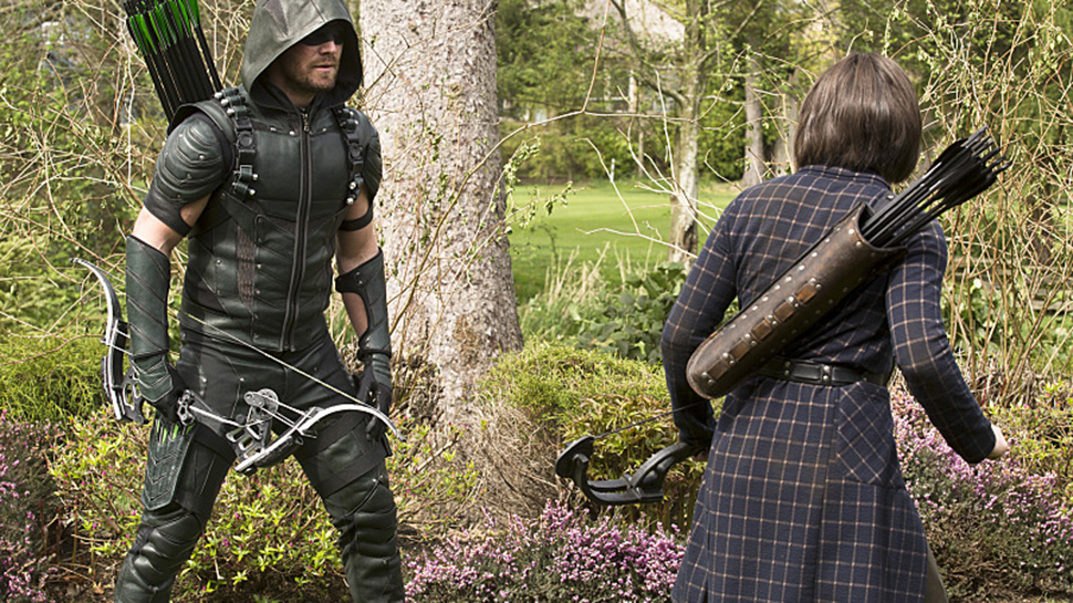 "ARROW Recap: ""Lost in the Flood"" Pits the Smoak vs. the Darhk Families"