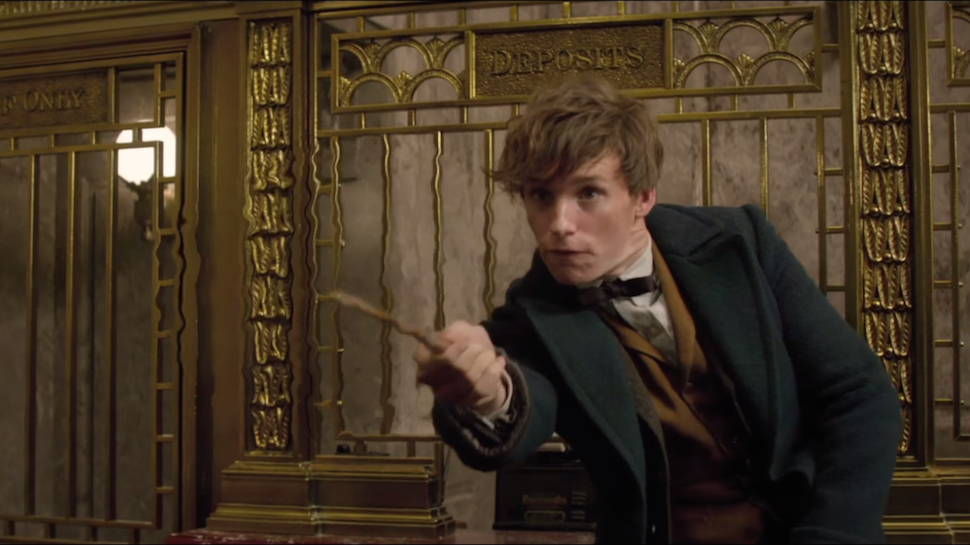 FANTASTIC BEASTS AND WHERE TO FIND THEM Casts a New Muggle, Plus More Movie News