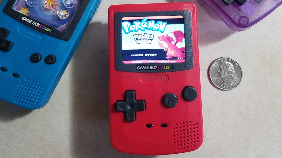 A Modder Turned a Burger King Toy into a Functioning Game Boy Color