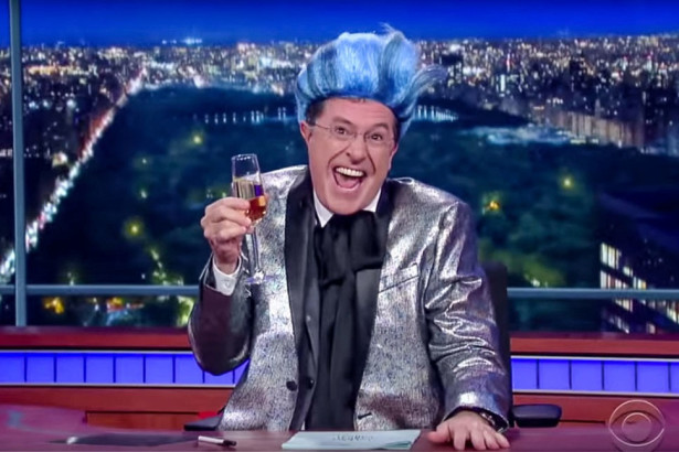 Stephen Colbert as Caesar Flickerman