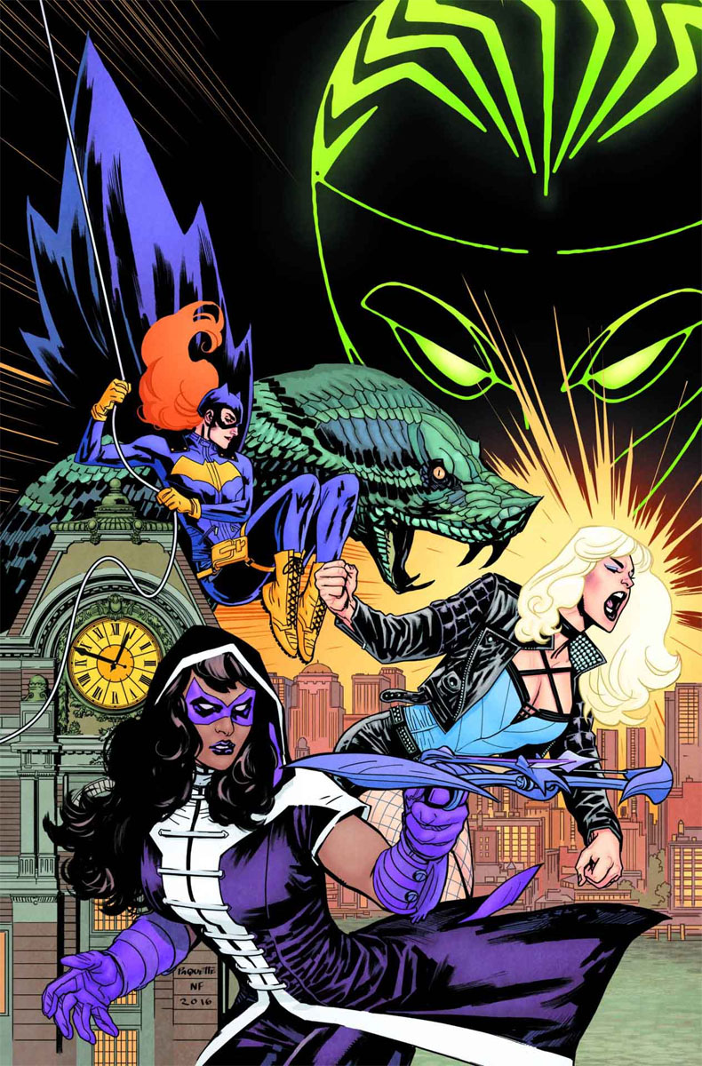 Batgirl and the Birds of Prey 1 cover