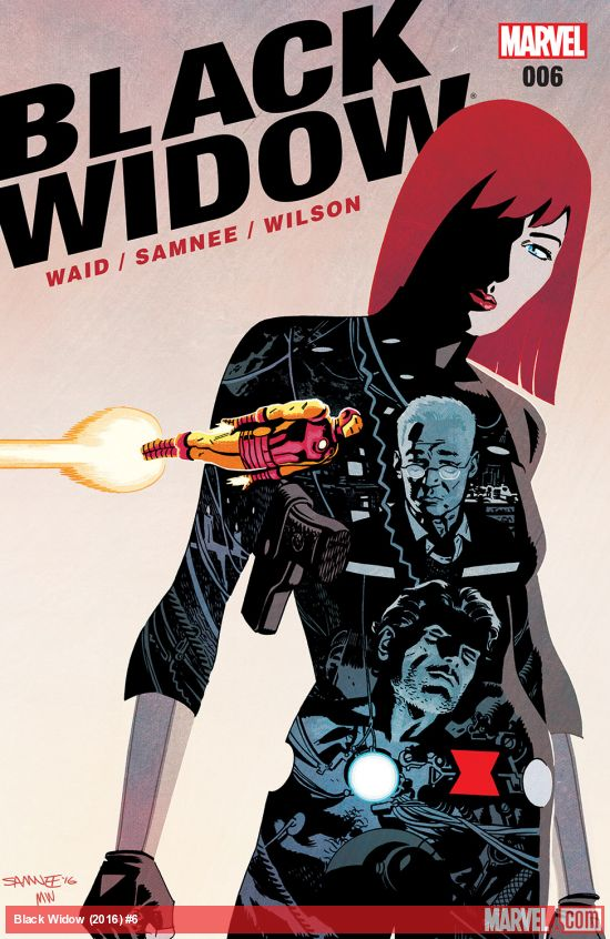 Black Widow #6 from Marvel Comics