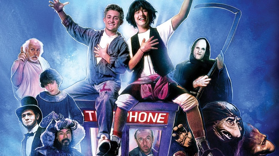 BILL & TED'S MOST EXCELLENT COLLECTION Urges Us to Party On, Dudes (Review)