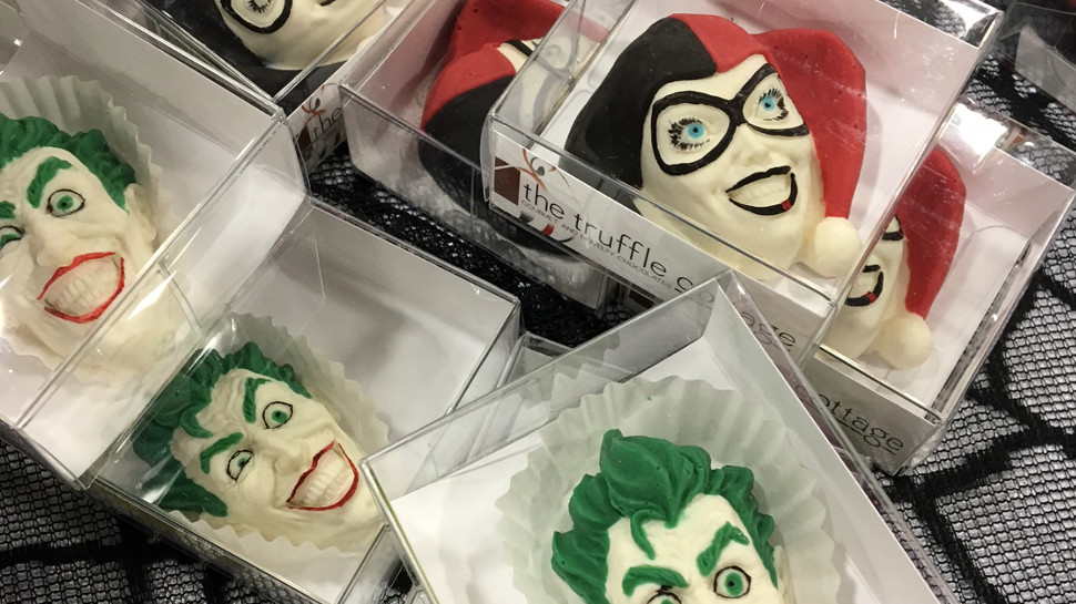 Eat Poké Balls, The Joker, and Other Novelty Chocolates by The Truffle Cottage