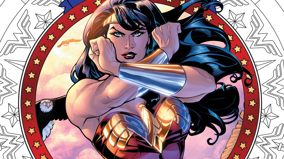 Finally, the WONDER WOMAN Coloring Book We've Always Needed