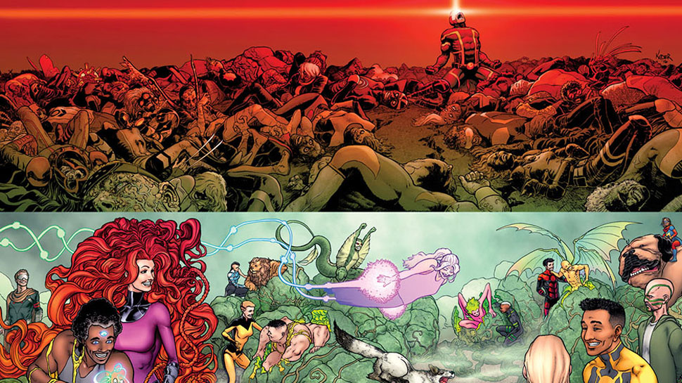 Marvel Poisons the Skies in DEATH OF X #1 (Review)