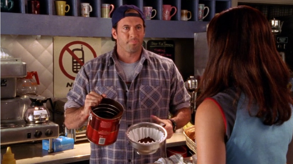 GILMORE GIRLS' Scott Patterson Served Us Coffee at Luke's Diner