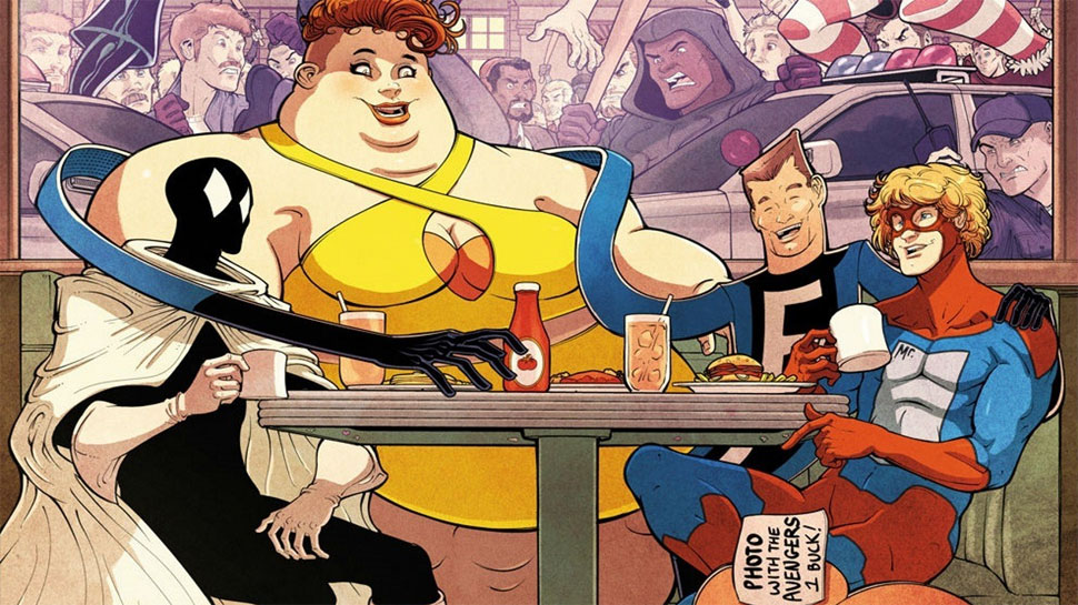 Marvel's Misfit Heroes Go Legit in GREAT LAKES AVENGERS #1 (Review)