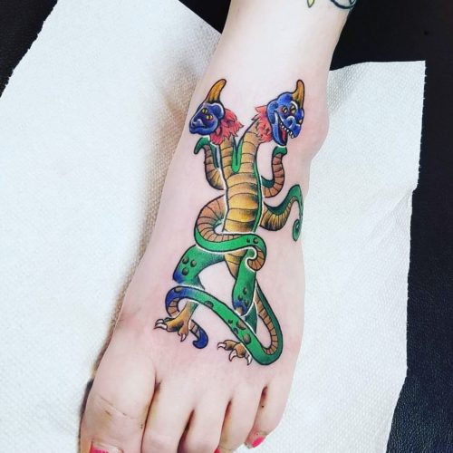 Inked Wednesday #111 – A Demogorgon, STAR WARS Locales, and More Geeky Tattoos_2