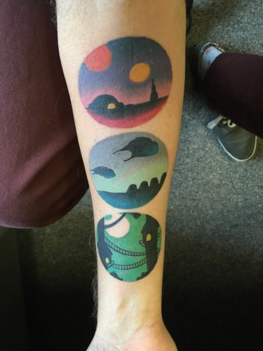 Inked Wednesday #111 – A Demogorgon, STAR WARS Locales, and More Geeky Tattoos_4