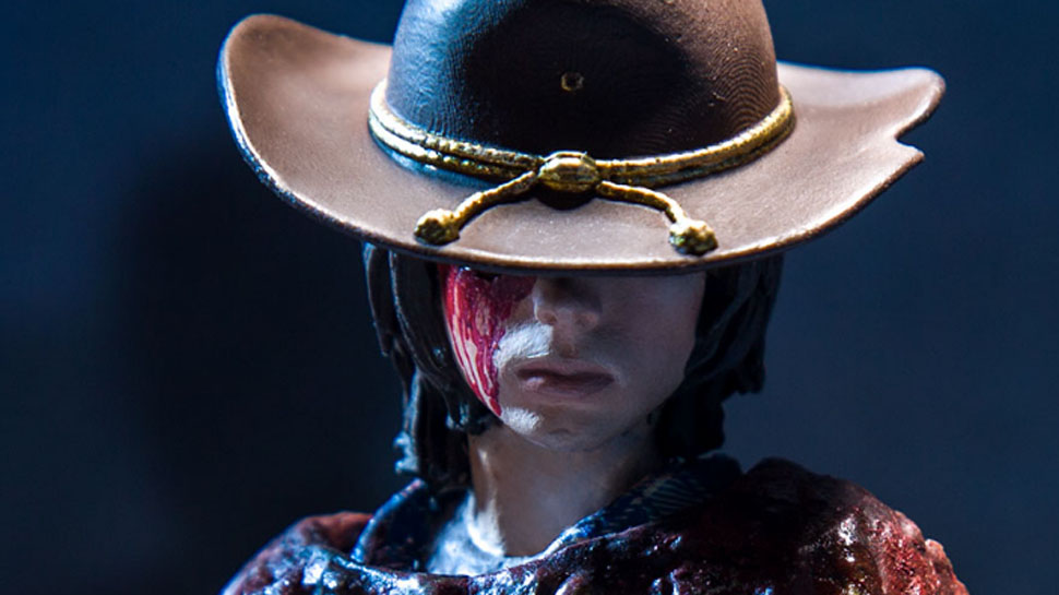 McFarlane Toys Unleashes a Bloody Preview of THE WALKING DEAD Carl Action Figure