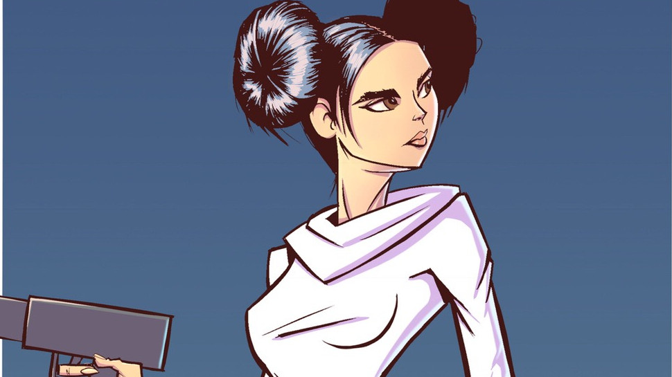 Fan Art Friday #96 – Leia, Rocket Raccoon, and More by Brian Cooper
