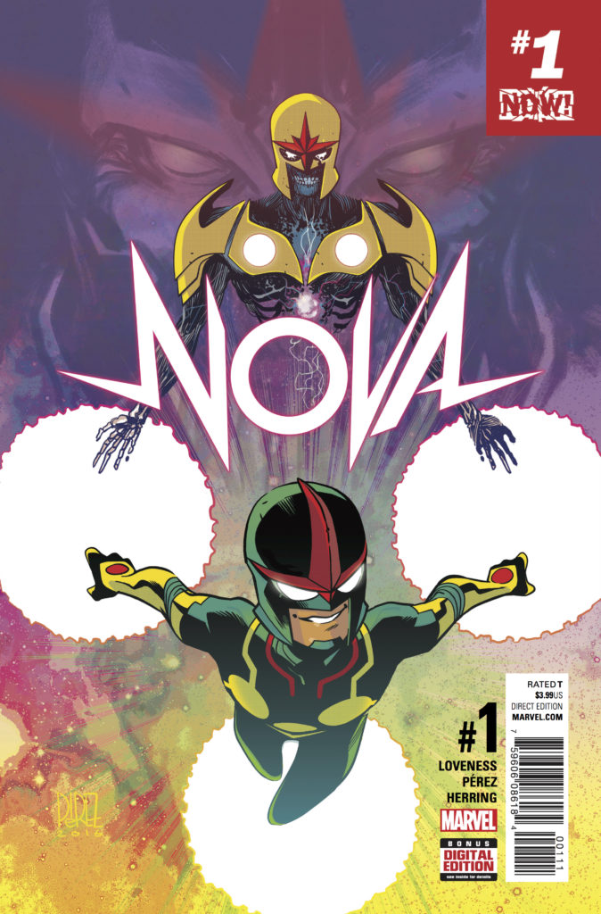 Nova #1 from Marvel Comics