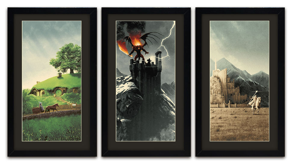 New LORD OF THE RINGS Prints Track Gandalf's Journey Through Middle-earth