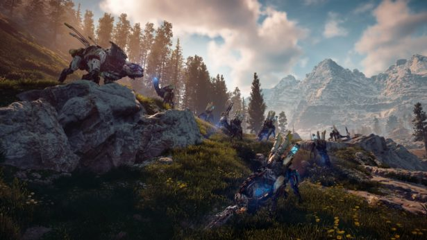 Horizon Zero Dawn Grazers