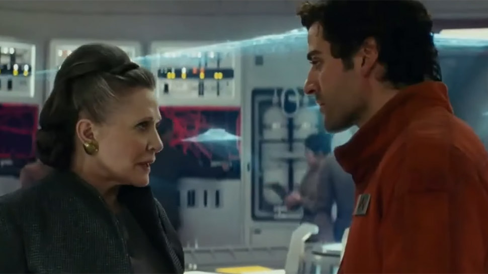 THE LAST JEDI Will See Leia Handing Off the Reins of Power