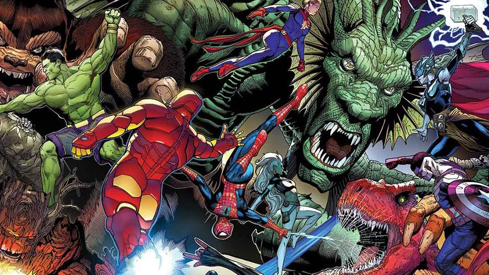 The Pull List: MONSTERS UNLEASHED #1, CURSE WORDS #1, and More!