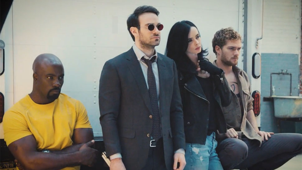 New Video Finally Brings Marvel's DEFENDERS Together