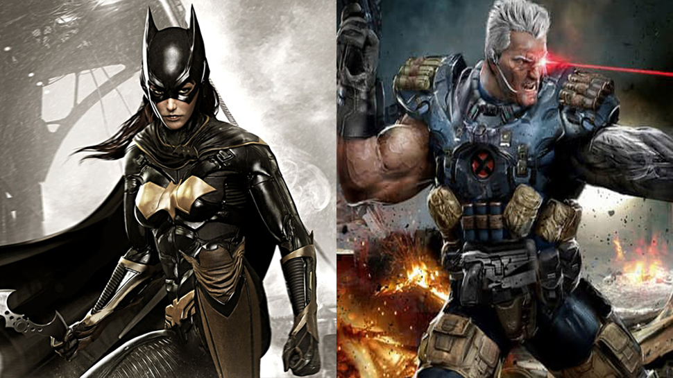 See Amazing Digital Art of Emma Stone as Batgirl, Russell Crowe as Cable