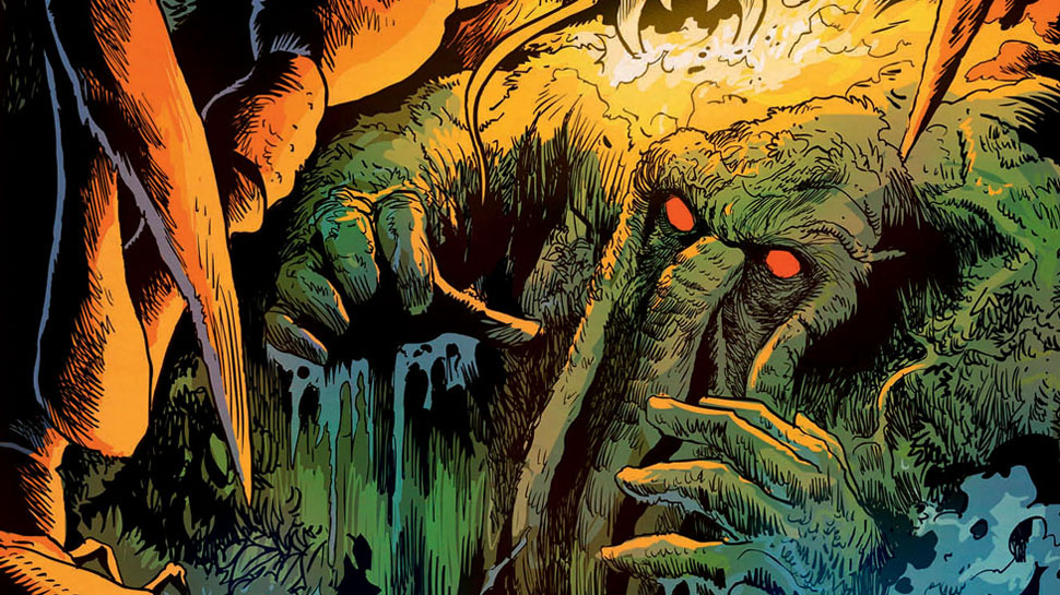 First Look at R.L. Stine's MAN-THING #1