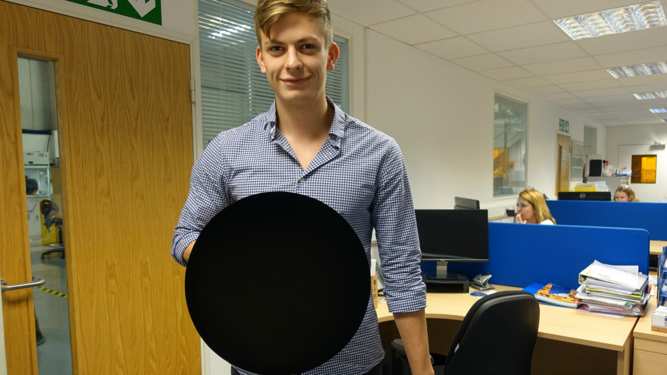 Vantablack and VBx1, Blackest Materials Ever, Turn Objects into 2D Black Holes