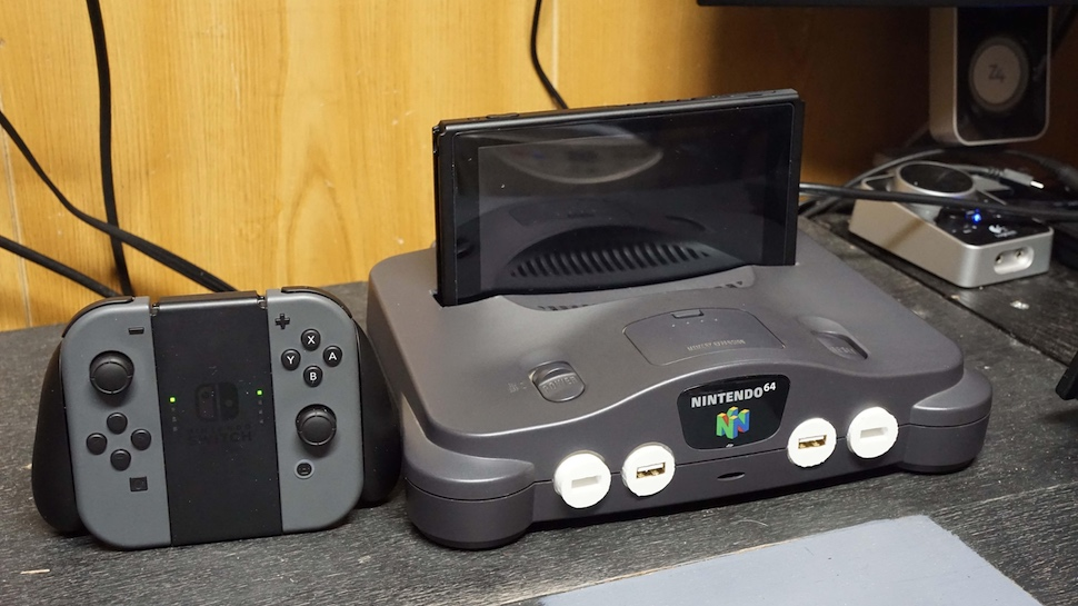 Have A Broken N64 Turn It Into A Nintendo Switch Dock Like This