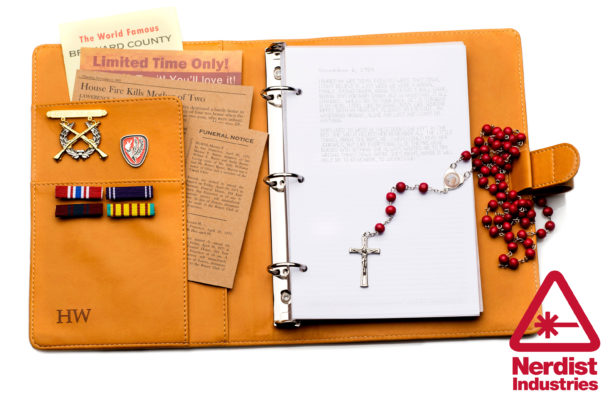 It is a photo of John Winchester Journal Pages Printable within book