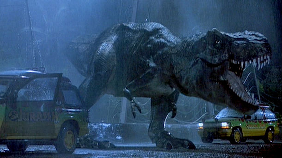 See a Storyboarded T-Rex Scene Cut From the First JURASSIC PARK