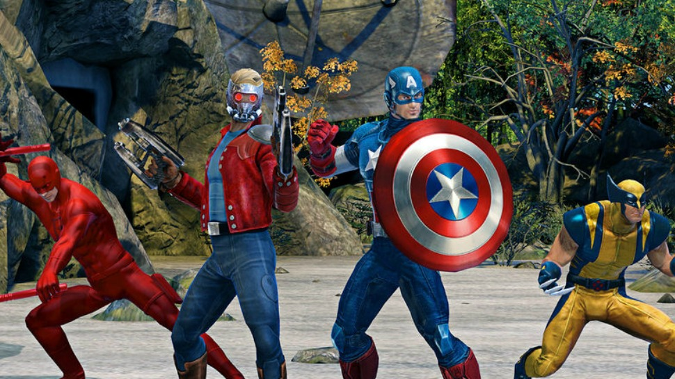 MARVEL HEROES OMEGA is Headed to PS4 This Spring