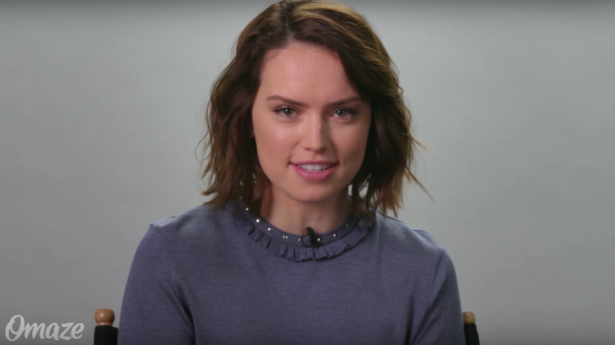 daisy ridley force for change