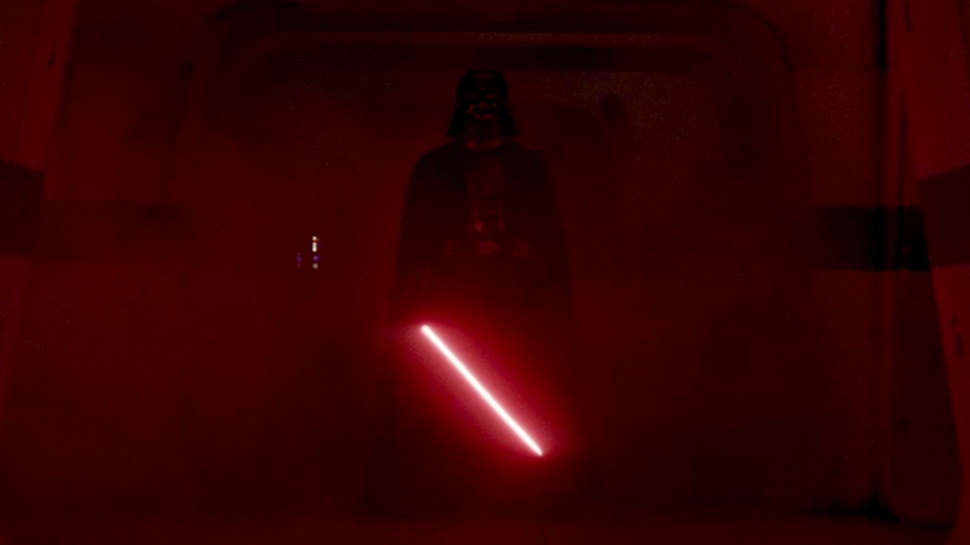 Does Anybody Have A Wallpaper Image Of Darth Vader Rogue One