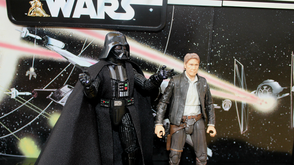Figures and Speech: STAR WARS 40th Anniversary Legacy Pack With Darth Vader