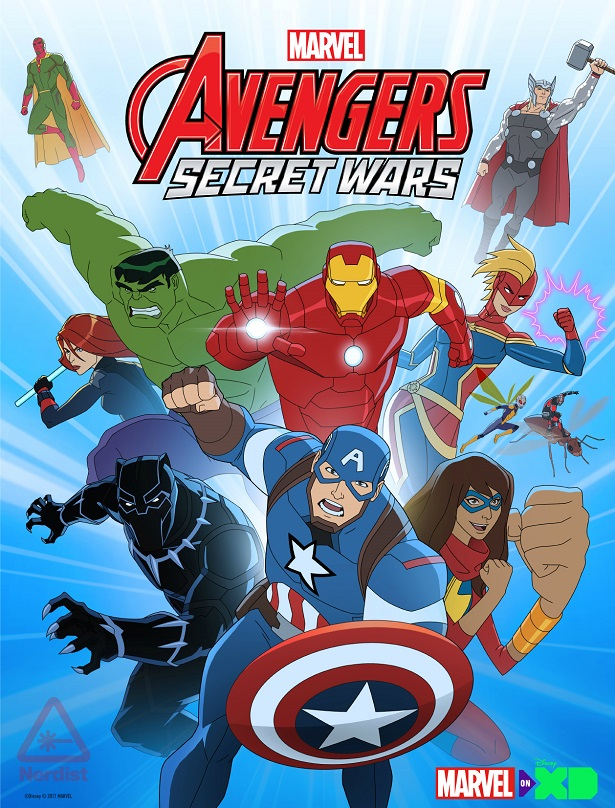 disney xd will also present a series of six shorts featuring the newest avengerscaptain marvel black panther ms marvel ant man wasp and visionin a - Avengers Marvel