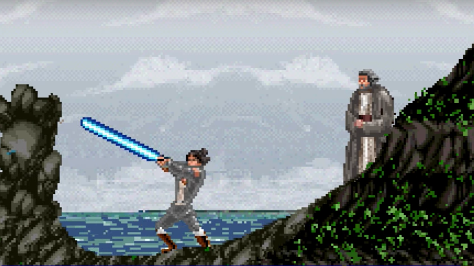Check Out THE STAR WARS: LAST JEDI 8-Bit Trailer