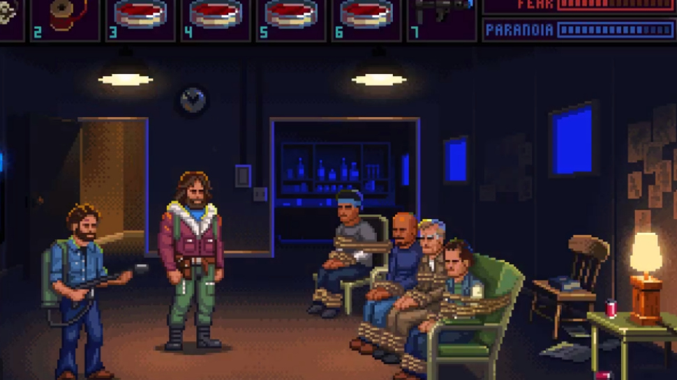 Iconic THE THING Scene as a LucasArts-Style Video Game is Bloody Brilliant