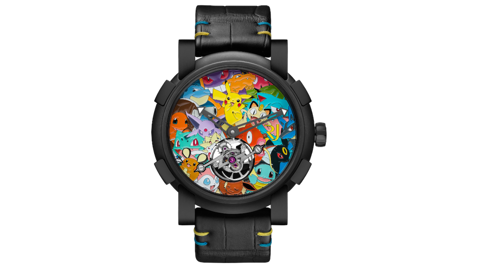 This Designer POKÉMON Watch Costs More Money Than You've Ever Seen