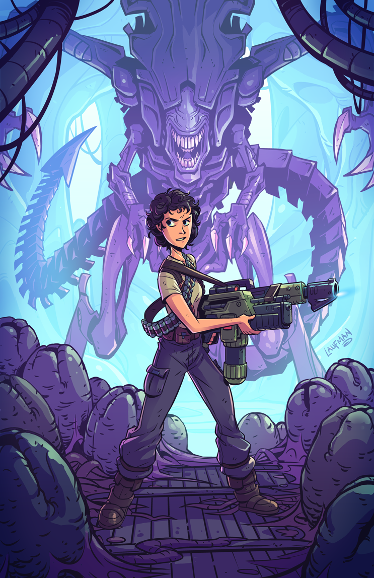 Aliens-Fan-Art-Derek-Laufman-06092017