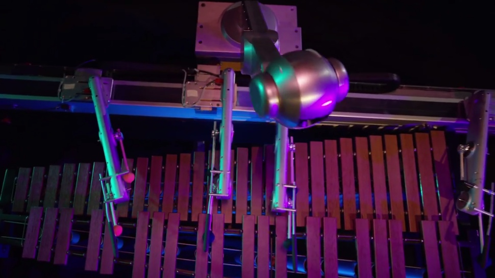 This Artificially Intelligent Robot Composes Its Own Songs