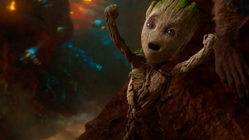 James Gunn Showcases How He Was Motion-Captured for Baby Groot