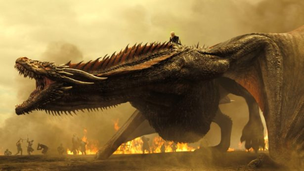 Game of Thrones TK Season 7, Episode TK Air Date: TK Emilia Clark as Daenerys Targaryen and a Dragon