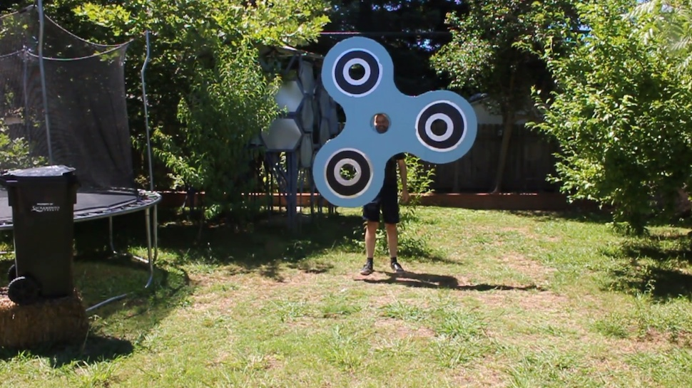 Somebody Made a Giant Fidget Spinner Costume That Actually Works