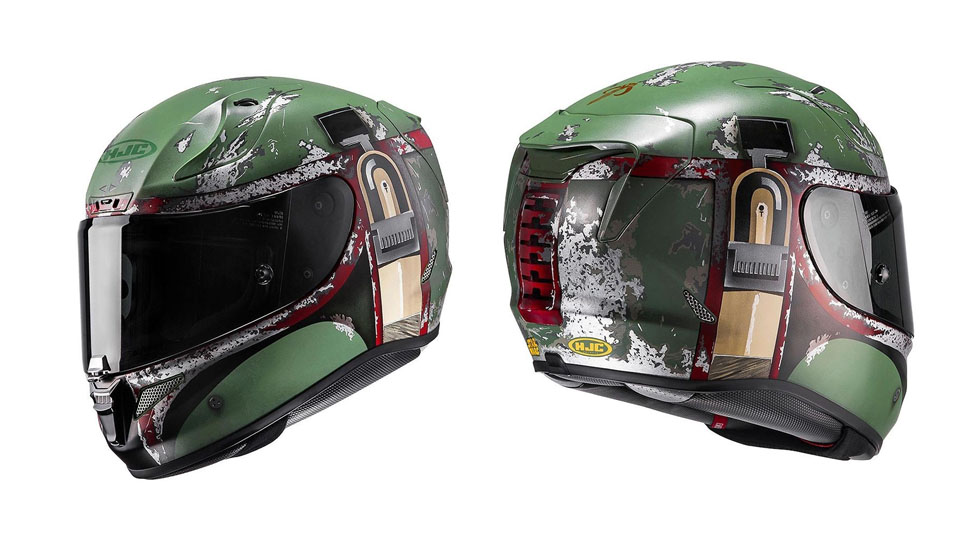 Rev Up With STAR WARS-Inspired Motorcycle Helmets
