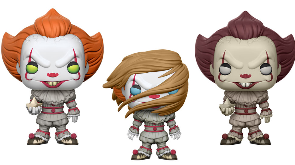 Funko Reveals New IT Pennywise the Clown Pop! Vinyls
